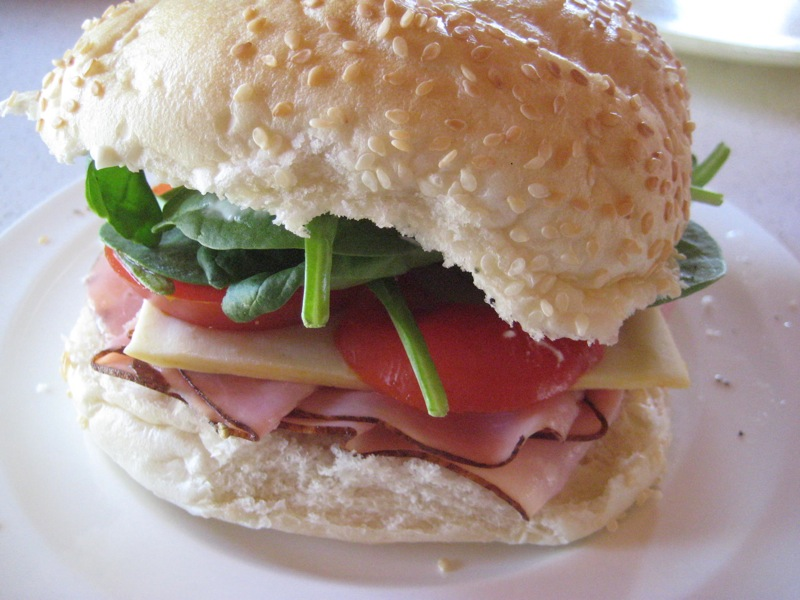 The best thing to accompany a lot of thinking is, of course, a good sandwich.