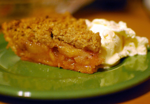 Dutch Apple Pie a la mode